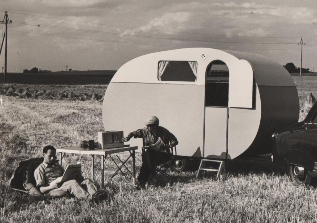 Campingvogn ca. 1960