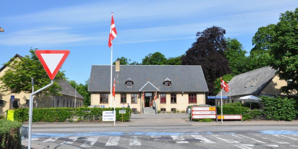Forsamlingshuset set fra Bonderupvej