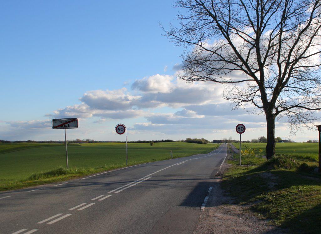 Tølløsevej set fra Nr.Vallenderød