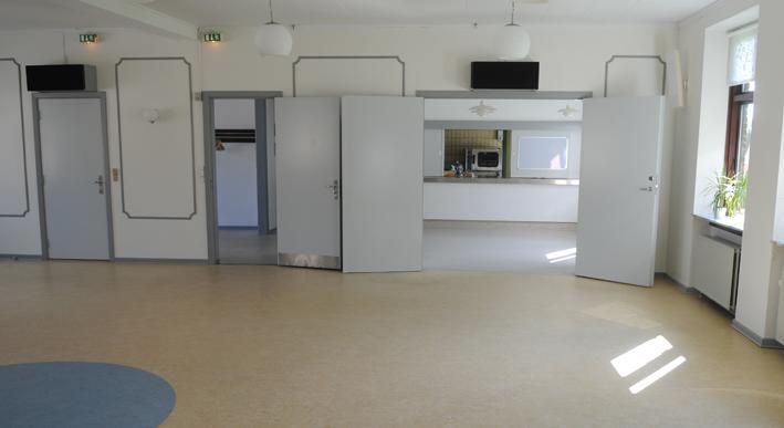 Store sal mod køkken