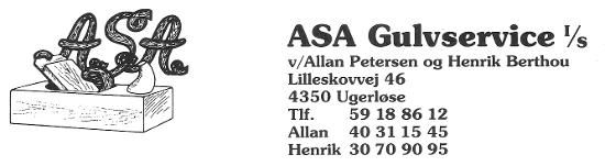 ASA Gulvservice 59188612